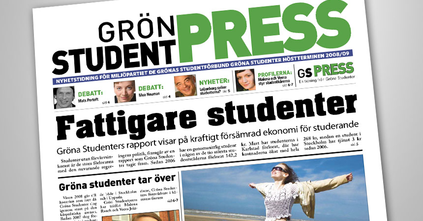 Gröna studenter. Form: Anders Bergh