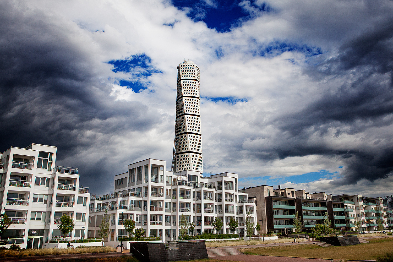 Turning Torso, Malmö. Fotograf: Anders Bergh