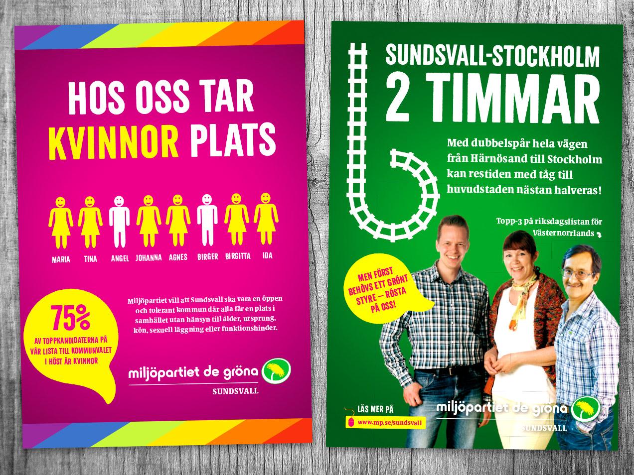 MP-affischer